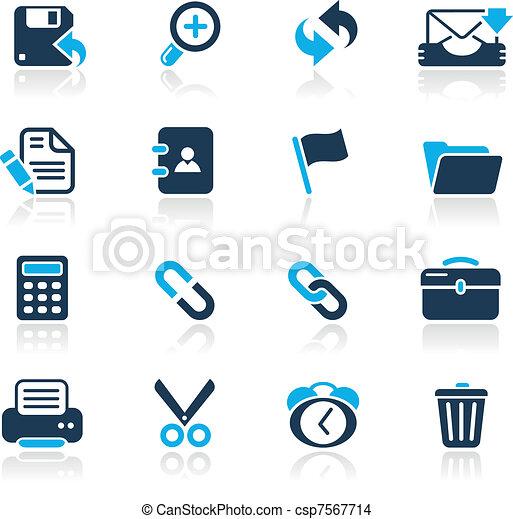 interface, toile, azur, / - csp7567714