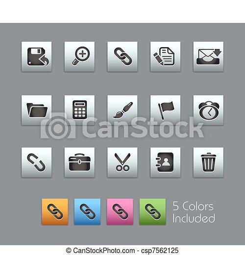 interface, toile, satinbox, / - csp7562125