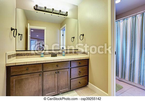 Badkamer Interieur Design : Interieur amerikaan typisch badkamer design badkamer usa