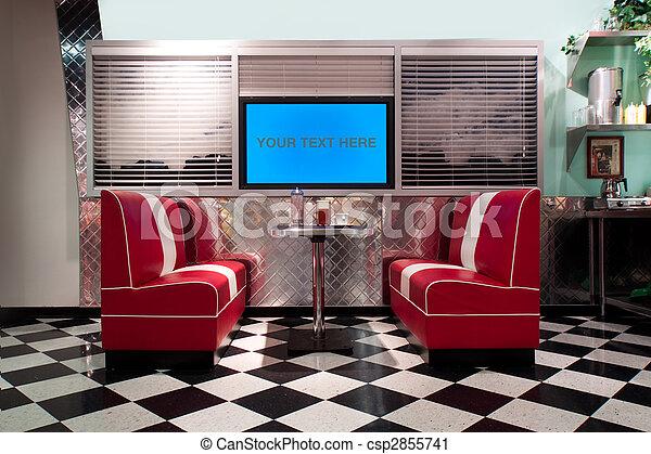 Retro Interieur. Great Deco With Retro Interieur. Cool Warme Kleuren ...