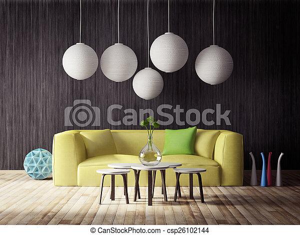 Interior 3D - csp26102144