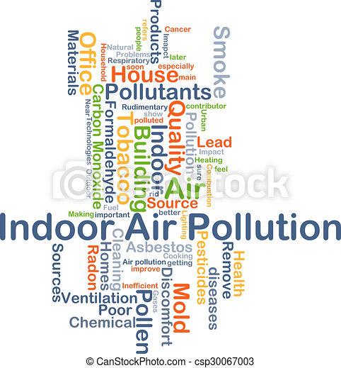 El concepto de fondo de contaminación del aire interior - csp30067003