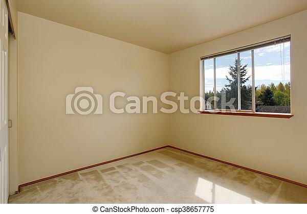 Interior vacío con alfombra - csp38657775