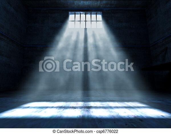En la cárcel - csp6776022