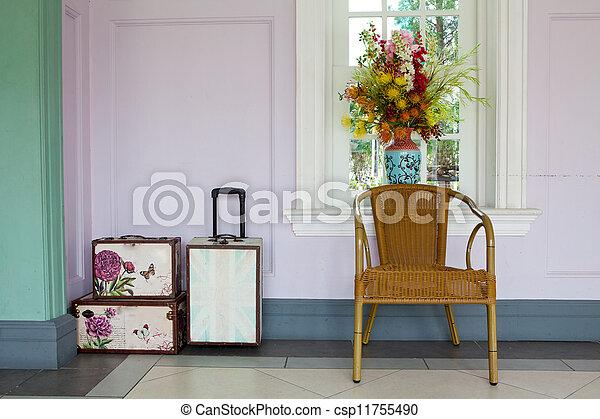 Interior clásico - csp11755490