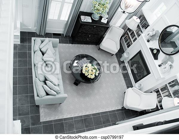 Interior Design - csp0799197