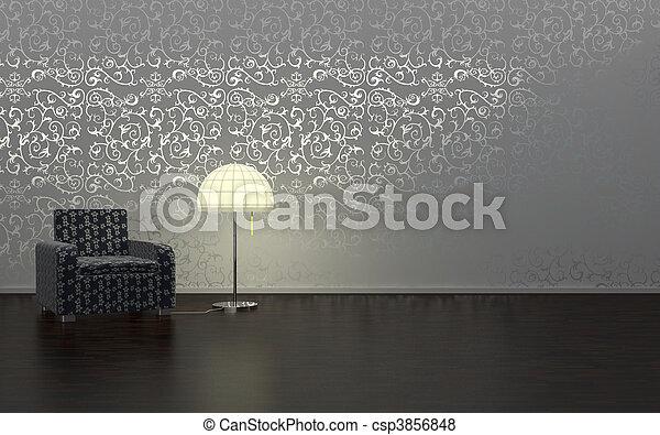 Interior design - csp3856848