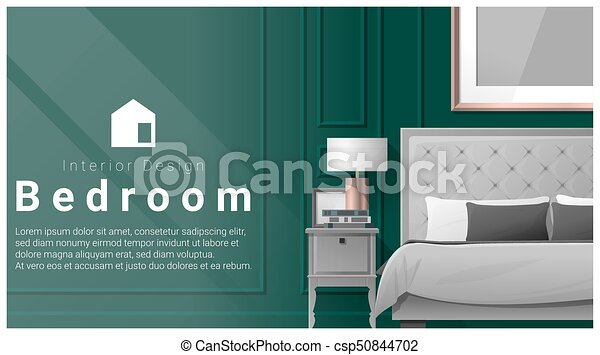 Interior Design With Modern Bedroom Background 6 Interior Design