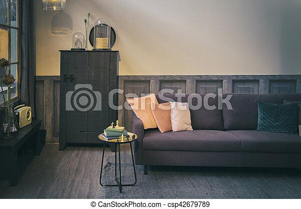 Interior Elegante Habitacion Retro Interior Vida Elegante - Habitacion-retro