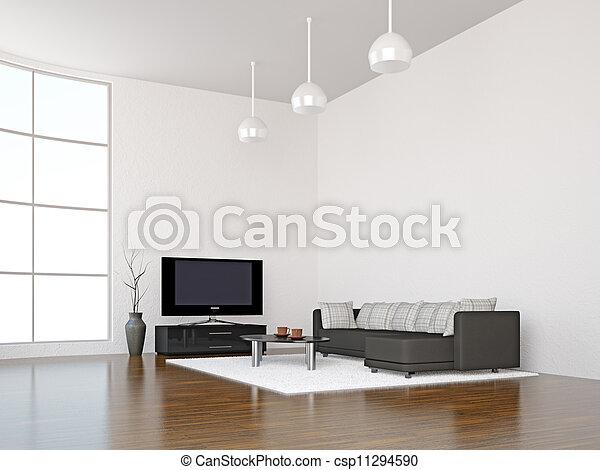 Sala del interior - csp11294590