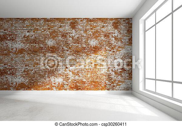 3D de habitación interior vacía - csp30260411