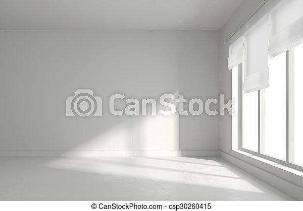 3D de habitación interior vacía - csp30260415