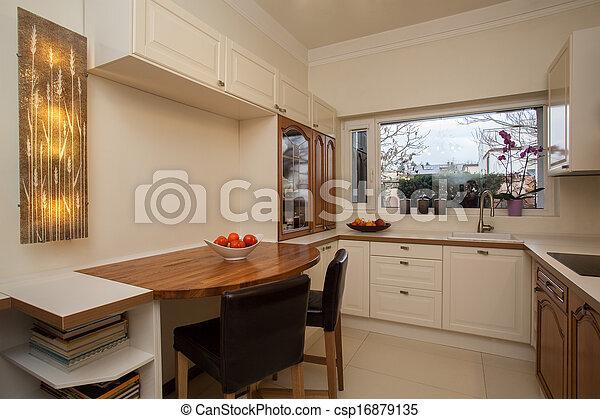 interior, hogar, brillante, -, nublado - csp16879135