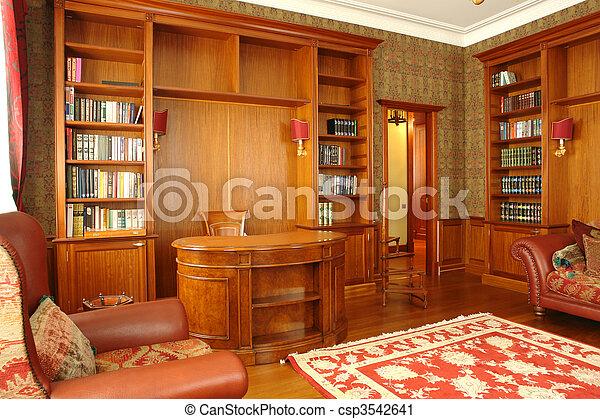 Interior de oficina en casa - csp3542641