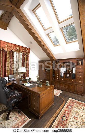 interior, hogar, habitación, oficina - csp3555858