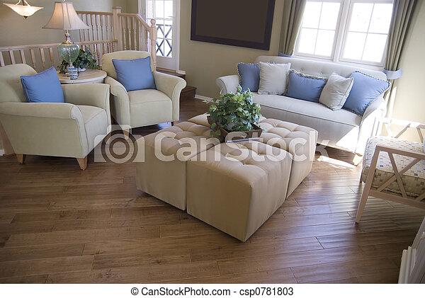 Interior moderno - csp0781803