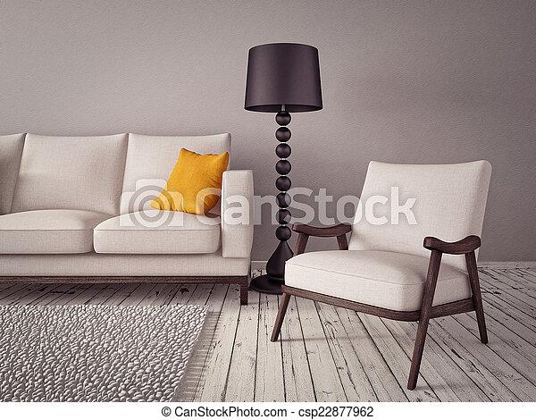 Interior - csp22877962