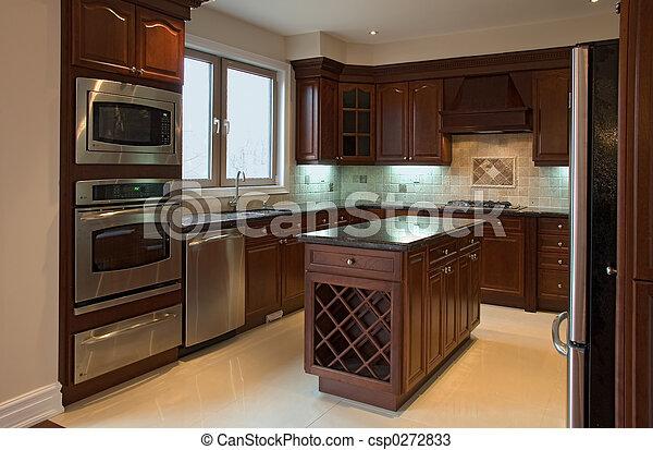 interior kitchen - csp0272833