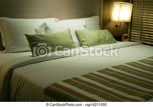 Interior luxury hotel - csp14211550