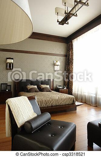 interior of a badroom - csp3318521