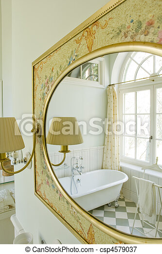 interior of a bathroom  - csp4579037