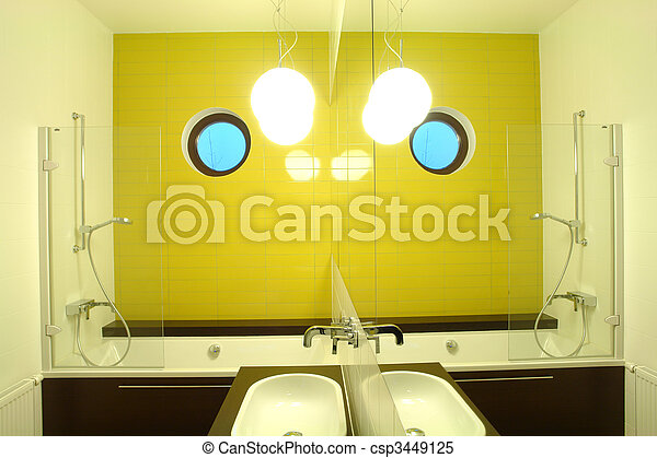 interior of a bathroom - csp3449125