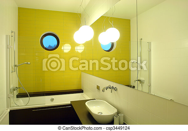 interior of a bathroom - csp3449124
