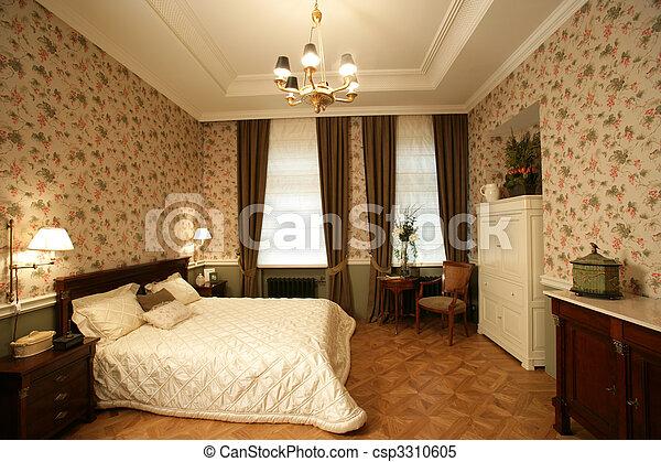 interior of a bedroom - csp3310605