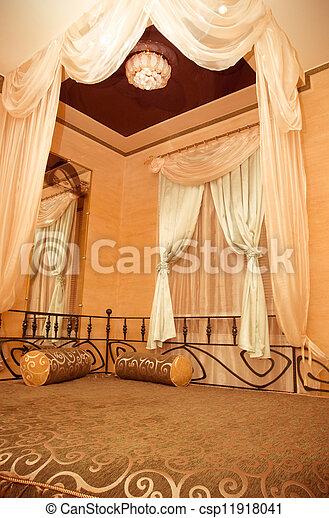 interior of a bedroom - csp11918041
