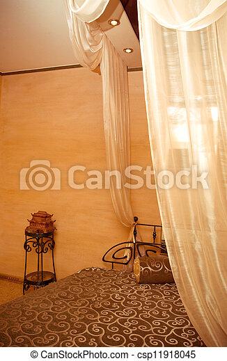 interior of a bedroom - csp11918045