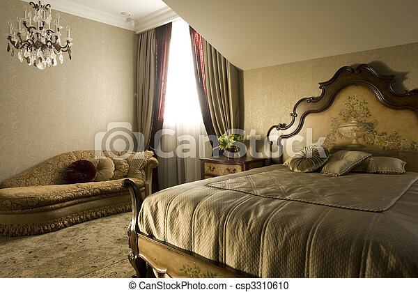 interior of a bedroom - csp3310610