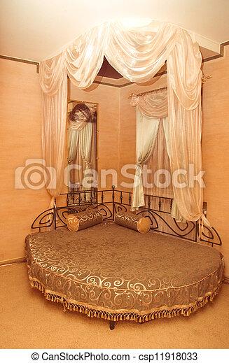 interior of a bedroom - csp11918033