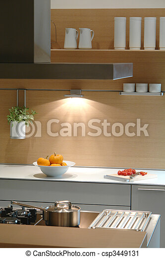interior of a kitchen - csp3449131
