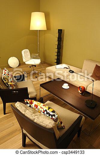 interior of a room - csp3449133