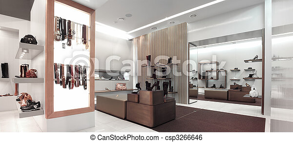 interior of a shop - csp3266646
