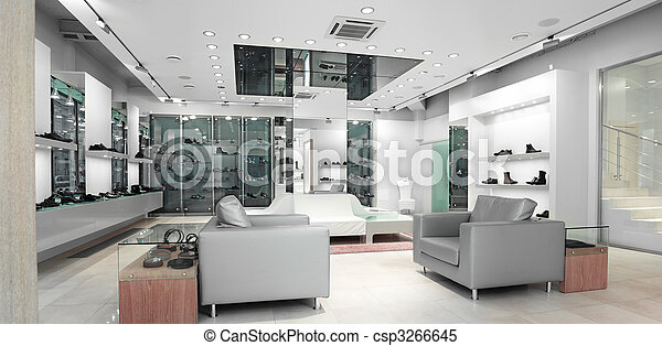 interior of a shop - csp3266645