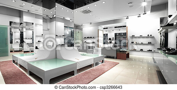 interior of a shop - csp3266643