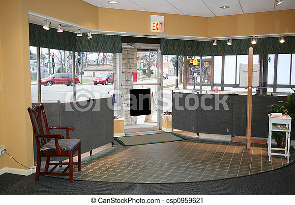 Interior of a store - csp0959621