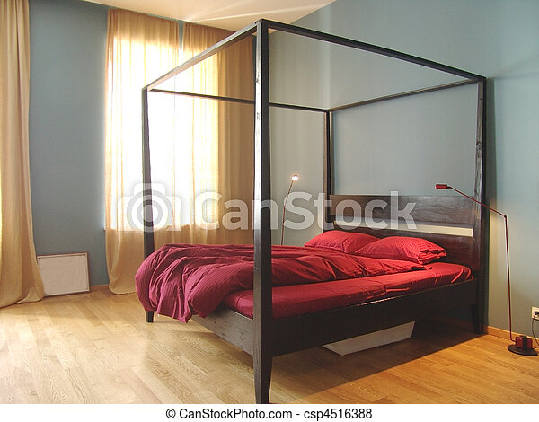 interior of modern bedroom - csp4516388