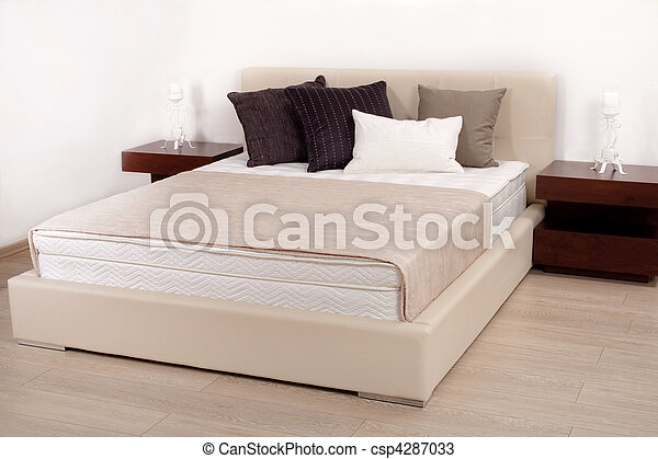 Interior of modern bedroom - csp4287033