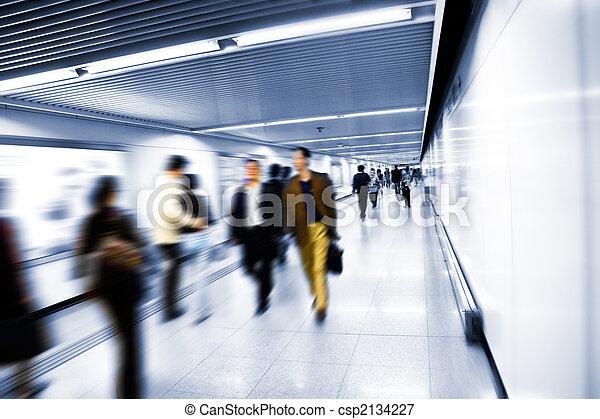 interior of the airport - csp2134227