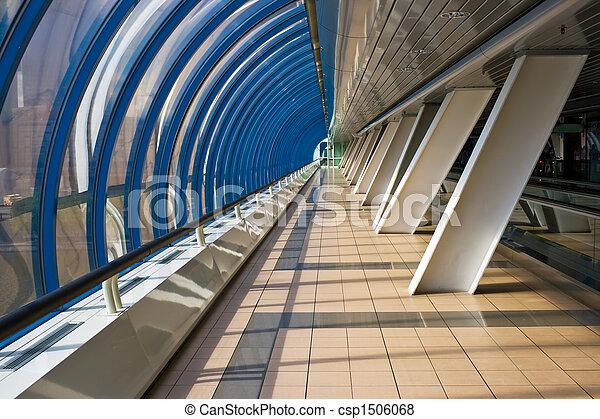 Interior of the business bridge Bagration - csp1506068