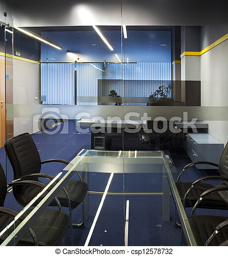Interior de oficina - csp12578732