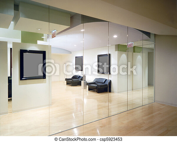 Interior de oficina - csp5923453