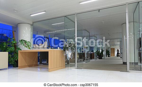 Interior de oficina - csp3067155