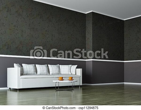 Interior room - csp11294875