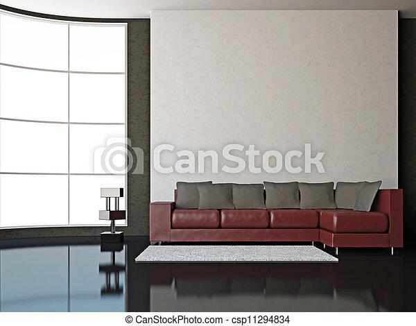 Interior room - csp11294834