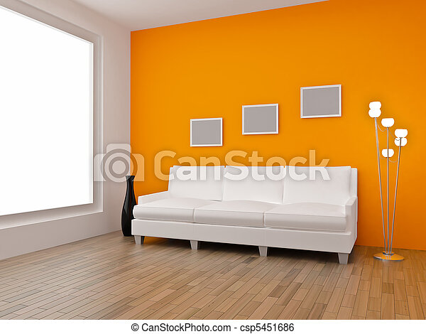 3d Render Home Interior High Resolution Image Apartments In A Modern Style