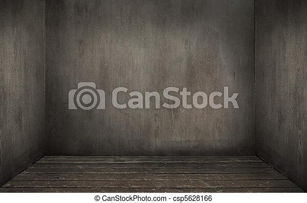 El interior de la habitación vacía - csp5628166