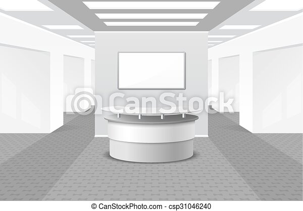 El vestíbulo o el interior de recepción - csp31046240